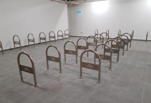 מתקן אופניים מנירוסטה
