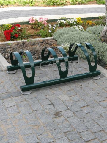חניה לאופניים - קשירת אופניים
