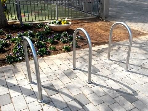מתקן אופניים U