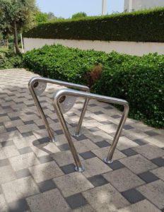 מתקן אופניים נירוסטה