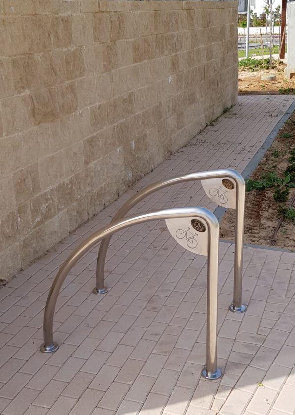 מתקן קשירת אופניים נירוסטה